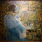 Bird Cage Frederick Carl Frieseke Oil Canvas New Britain