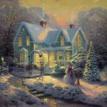 Blessings Christmas Limited Edition Art Thomas Kinkade