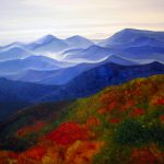 Blue Ridge Mountains West Virginia Painting Katherine
