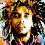 Bob Marley Abstract