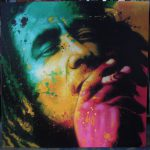 Bob Marley Colorful Face Painting Oil