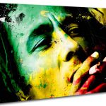 Bob Marley Colours People Canvas