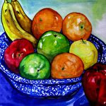 Bowl Fruit Painting Colleen