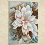 Bursting Beauty Magnolia Floral Canvas Wall