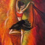 Buy Contemporary Paintings Sizzling