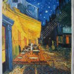 Cafe Terrace Night Van Gogh Oil Painting Reproduction