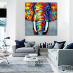 Canvas Art Living Room Wall Modern Home Design