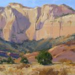 Canyon Walls Zion National Park Painting Spike