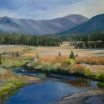 Carson River California Landscape Oil Painting Art