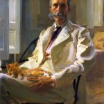 Cecilia Beaux Man Cat Ben