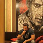 Check Out Salman Khan Shows Off His Paintings Chalet Bigg Boss House