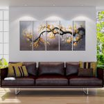 China Hot Sale Modern Art S Living Room Oil Group