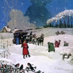 Christmas Scene Painting English