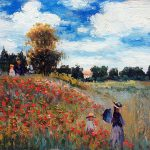 Claude Monet Hand Painted Reproduction Oil