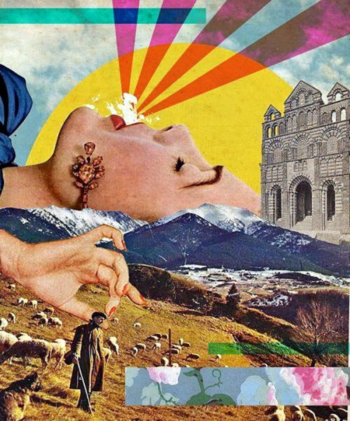 Clever Meaningful Collage Art