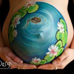 Clever Pregnant Belly Painting Ideas Daizy Design Stylish