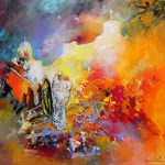 Collection Morocco Paintings French Artist Miki