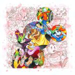 Colorful Characters Disney Giclee Canvas Tim