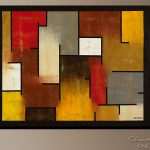 Contemporary Art Canvas Prints Posters Modern Abstract Paintings Formula