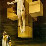 Crucifixion Surreal Paintings Salvador