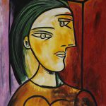 Cubist Oil Painting Reproduction Pablo Picasso Marie Therese