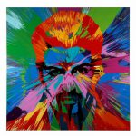 Damien Hirst Painting George Michael Auctioned Hiv Aids Research