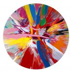 Damien Hirst Spin Paintings Doctor Standing Ovation