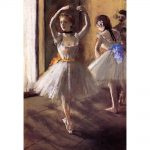 Dancers Paintings Edgar Degas Two Studio Modern Art Wall Decor