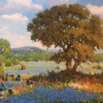David Forks Texas Landscape Painter Hill Country Afternoon Revised