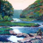 Dawn West Virginia Art Nomad Sandra