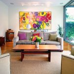 Decorate Using Oversized Art Few Ideas