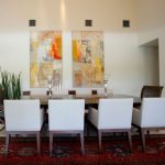 Dining Room Wall Decor Abstract Art Painting
