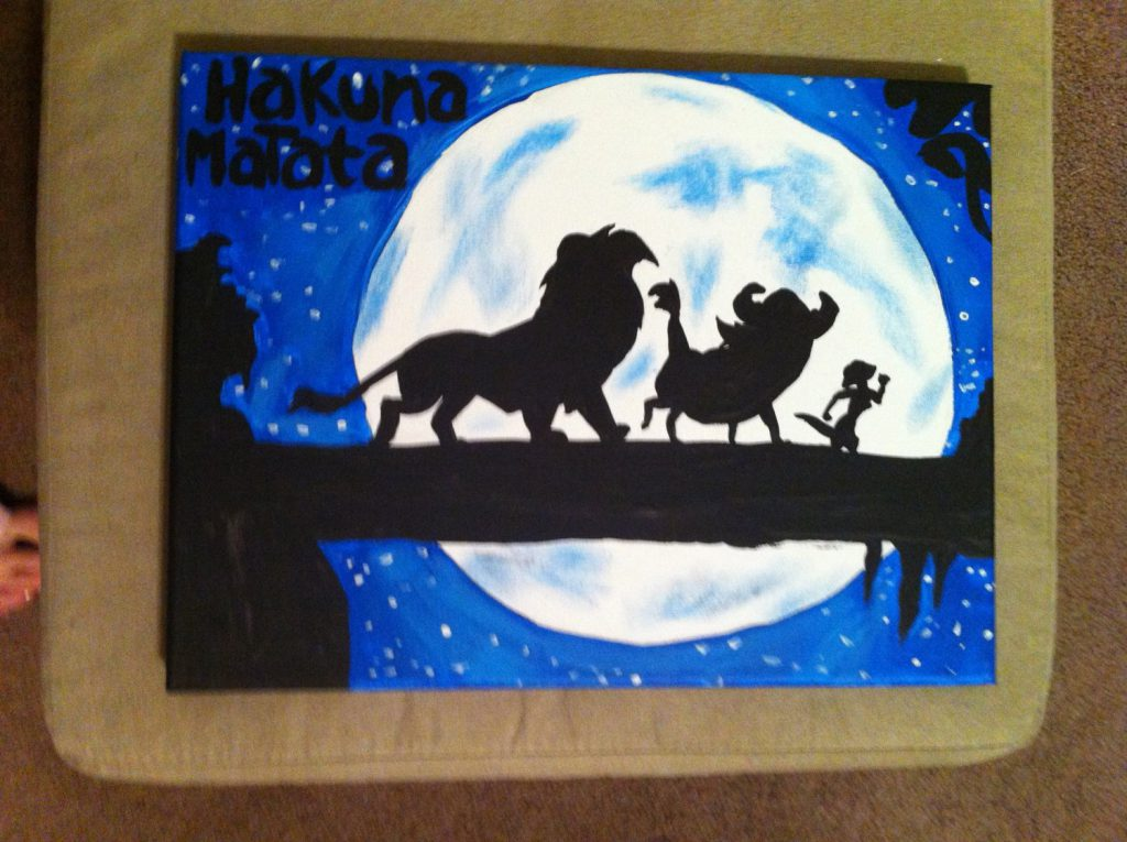 Disney Lion King Inspired Canvas