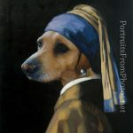 Dogs Painted Into Old Master