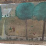 Early American Outsider Art Painting Sale