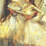 Edgar Degas French Impressionism Oil Painting Ballerinas Jnniepce