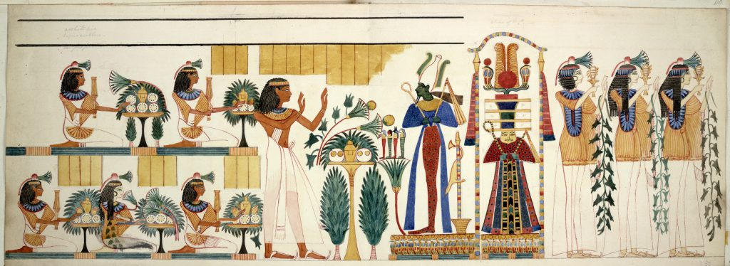 Egyptian Tomb Wall Painting Collections Vol