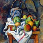 Famous Arts Reproduction Ginger Jar Fruit Paul Cezanne Paintings Still Life High