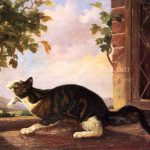 Famous Cat Paintings Stalking