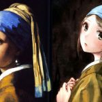 Famous European Paintings Get Anime Asian