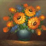 Famous Paintings Flowers