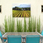 Five Minute Friday Weatherproof Art Outdoors Blue Style