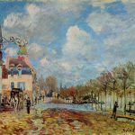 Flood Port Marly Alfred Sisley