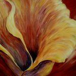 Floral Close Painting Joanne