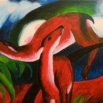 Franz Marc Animal Paintings Imgkid