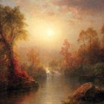 Frederic Edwin Church Autumn Painting Best Paintings