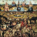 Garden Earthly Delights Hieronymus Bosch Painting Art Repo