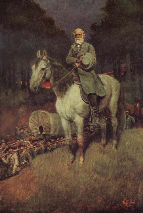 General Lee His Famous Appointment Howard Pyle Wholesale China Oil Painting