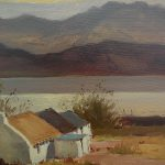 George Mccullough Irish Art Landscape Painting Cottage Jbfinearts Ruby