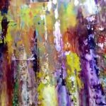 Gerhard Richter Style Abstract Paintings Sale